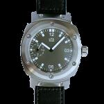 manual winding German mechanical watch