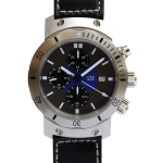 UTS 600M German Chronograph dive watch